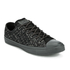 Converse Men's Chuck Taylor All Star Denim Woven Ox Trainers - Black/Storm Wind/Storm Wind: Image 2
