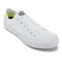 Converse Chuck Taylor All Star II Ox Trainers - White/White/Navy: Image 2