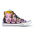 Converse Chuck Taylor All Star Warhol Hi-Top Trainers - Lichen/Orchid Smoke/White: Image 1