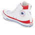 Converse Chuck Taylor All Star Warhol Hi-Top Trainers - White/Red/Blue: Image 4