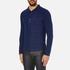 Oliver Spencer Men's Faro Jersey Shirt - Kobe Indigo: Image 2