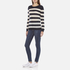 Maison Scotch Women's Striped Crew Neck Jumper - Multi: Image 4