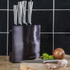 Morphy Richards 974814 Accents 5 Piece Knife Block - Black: Image 4