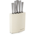 Morphy Richards 974816 Accents 5 Piece Knife - Cream: Image 1