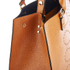 Orla Kiely Women's Willow Box Leather Tote Bag - Tan: Image 5