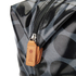 Orla Kiely Women's Linear Stem Print Laminated Zip Shopper Bag - Midnight: Image 4