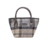 Barbour Women's Tartan Mini Tote Bag - Winter Tartan: Image 1