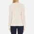 Polo Ralph Lauren Women's Kimberley Cashmere Blend Jumper - Cream: Image 3