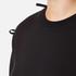 Sportmax Women's Zeda Bow Sleeve Sweatshirt - Black: Image 5