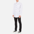 Alexander Wang Men's Relaxed Fit Casual Shirt with Label - White: Image 4