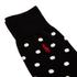 Polo Ralph Lauren Men's 3 Pack Socks - Dot Black: Image 3