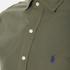 Polo Ralph Lauren Men's Long Sleeve Poplin Shirt - Rustic Sage: Image 5