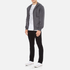 Versace Collection Men's Zipped Tracksuit Jacket - Grigio: Image 4