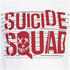 DC Comics Men's Suicide Squad Line Up Logo T-Shirt - White: Image 4