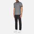 Michael Kors Men's Tipped Birdseye Polo Shirt - Black: Image 4