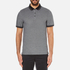 Michael Kors Men's Tipped Birdseye Polo Shirt - Black: Image 1