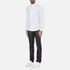Michael Kors Men's Slim Fit Landon Long Sleeve Shirt - Ocean: Image 4