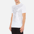 Versace Collection Men's Reflective Large Logo T-Shirt - Bianco-Stampa: Image 2