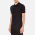 Versace Collection Men's Chest Logo Polo Shirt - Black: Image 2