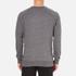 Maison Kitsuné Men's Tricolor Patch Sweatshirt - Grey Melange: Image 3