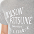 Maison Kitsuné Men's Palais Royal T-Shirt - Grey Melange: Image 5