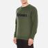 Maison Kitsuné Men's Parisien Sweatshirt - Khaki: Image 2