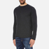 Selected Homme Men's Ludvig Long Sleeve Top - Caviar: Image 2