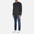 Selected Homme Men's Ludvig Long Sleeve Top - Caviar: Image 4