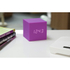 Gingko Gravity Cube Click Clock - Purple: Image 4