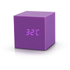 Gingko Gravity Cube Click Clock - Purple: Image 3