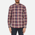 PS by Paul Smith Men's Checked Long Sleeve Shirt - Red: Image 1