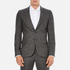 PS by Paul Smith Men's Fully Lined Single Breasted Jacket - Grey: Image 1