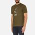 PS by Paul Smith Men's Crew Neck Short Sleeve Animal Logo T-Shirt - Khaki: Image 2