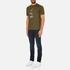 PS by Paul Smith Men's Crew Neck Short Sleeve Animal Logo T-Shirt - Khaki: Image 4