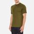PS by Paul Smith Men's Crew Neck Short Sleeve Logo T-Shirt - Khaki: Image 2