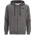 The North Face Men's Open Gate Full Zip Hoody - Medium Grey Heather: Image 1