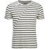 Produkt Men's Deko Asymetric Stripe T-Shirt - Cloud Dancer: Image 1