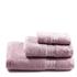 Restmor 100% Egyptian Cotton 3 Piece Towel Bale - Mauve: Image 1