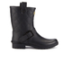 Barbour International Women's Matte Biker Wellington Boots - Black: Image 1