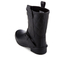 Barbour International Women's Matte Biker Wellington Boots - Black: Image 4