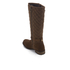 Barbour Women's Holford Waxy Suede Quilted Knee Boots - Brown: Image 4