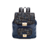 Karl Lagerfeld Women's K/Kuilted Tweed Backpack - Midnight Blue: Image 1