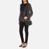 Karl Lagerfeld Women's K/Grainy Small Satchel - Black: Image 8