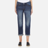 Levi's Women's 501 CT Tapered Fit Jeans - Roasted Indigo: Image 1