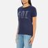 Levi's Women's Vintage Perfect T-Shirt - Peacoat Graphic: Image 2