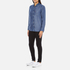 Levi's Women's Sidney 1 Pocket Boyfriend Shirt - Ocean Blue: Image 4