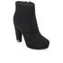 MICHAEL MICHAEL KORS Women's Sabrina Suede Heeled Ankle Boots - Black: Image 2