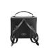 The Cambridge Satchel Company Women's Barrel Backpack - Black: Image 5