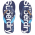 Superdry Men's Scuba Flip Flops - Blue Marl/French Navy: Image 1