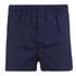 Derek Rose Men's Nelson 21 Modern Fit Boxer Shorts - Navy: Image 1